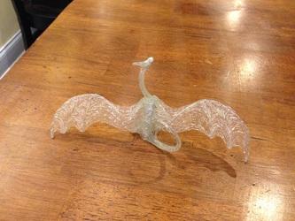 Jsfarsth_Sala Hot Glue Dragon Sculpture WIP Backshot