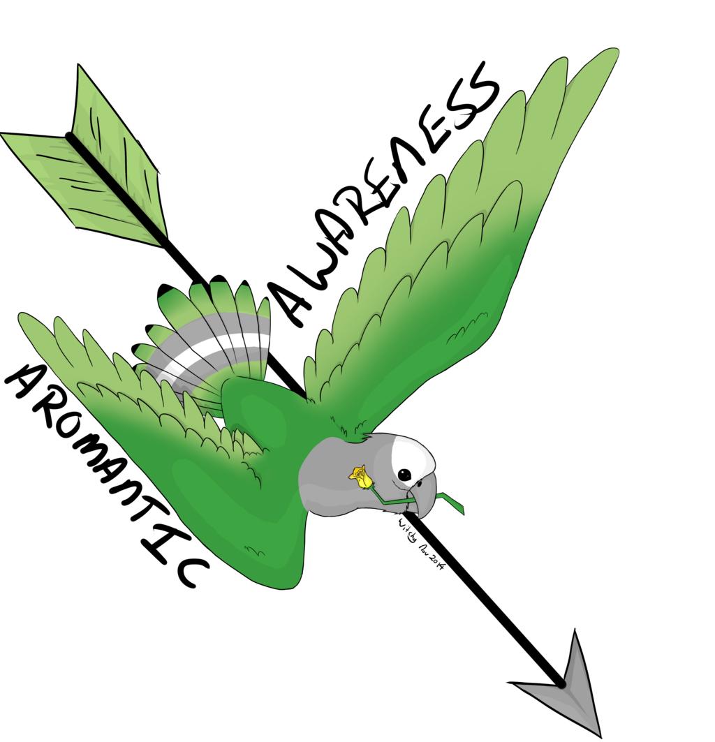Aromantic Awareness Bird