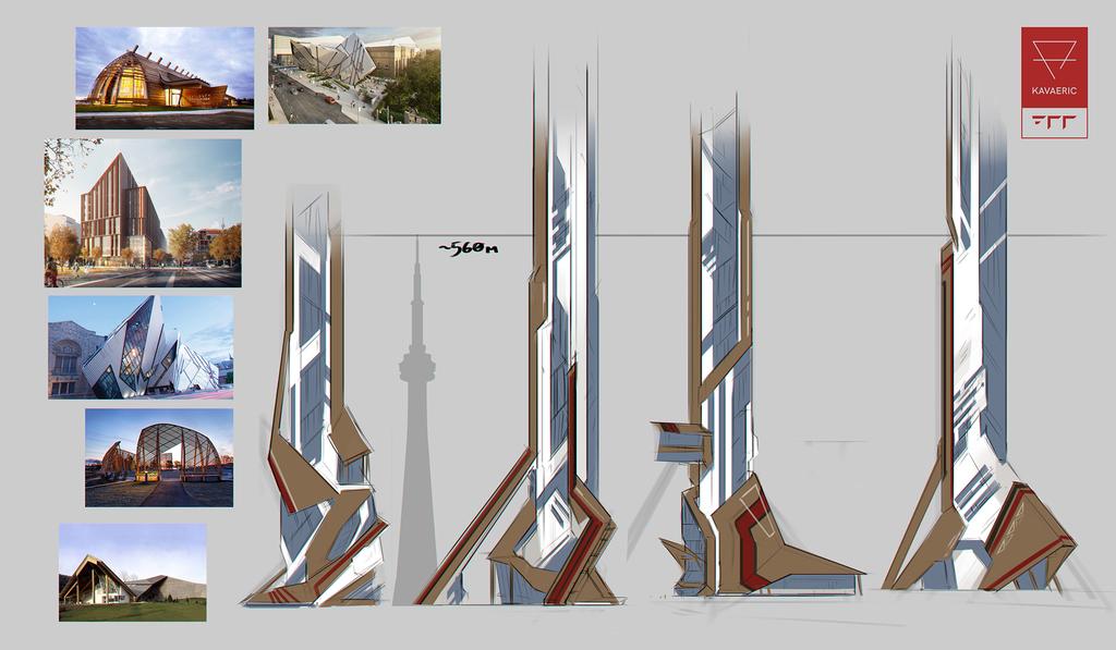+700 architecture concept: Toronto
