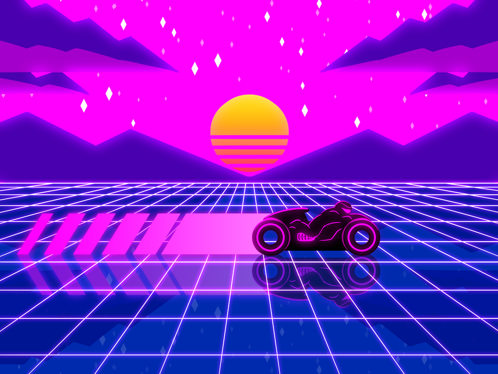 Retrowave LightCycle 2020