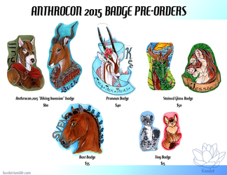 Anthrocon 2015- Badge Pre-Orders are OPEN!