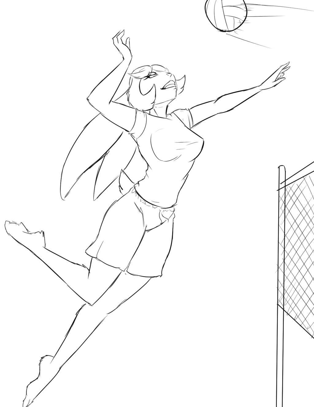 Volleyball TangoBunny!