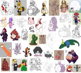 Misc. Doodle Dump