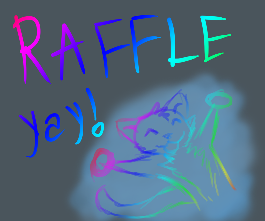Most recent image: Furaffinity art raffle :3