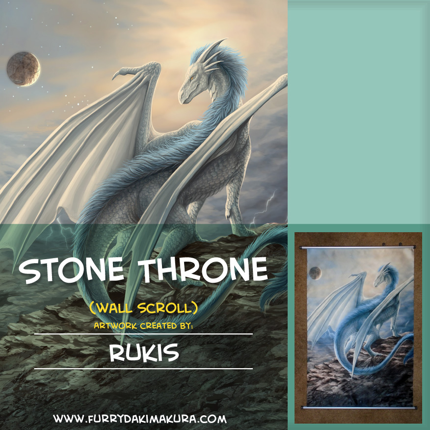 Most recent image: Stone Throne Wall Scroll by Rukis