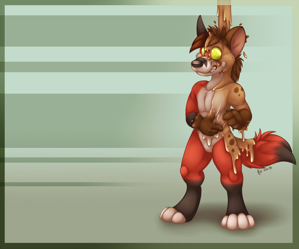 Hyena Goop!