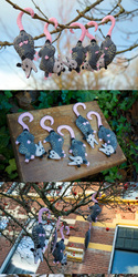 Opossum Ornaments