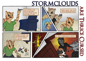 Stormclouds are Thrice Cursed Page 1A