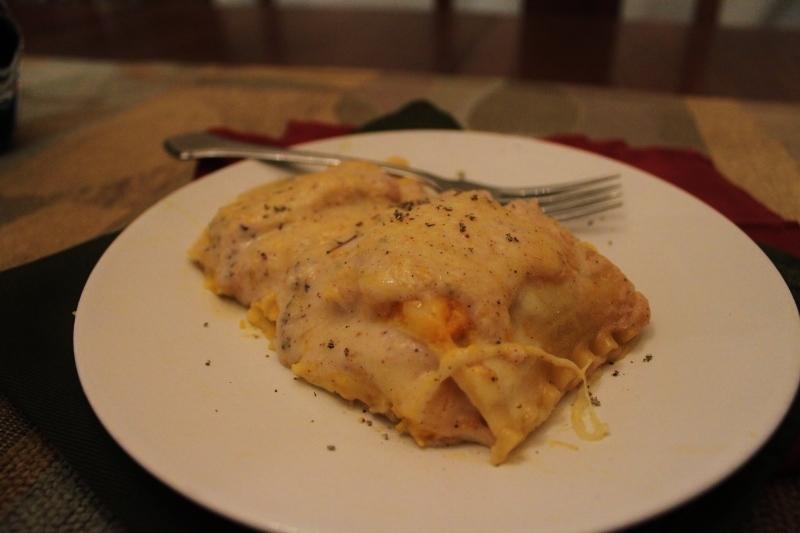 Featured image: Butternut Squash Lasagna