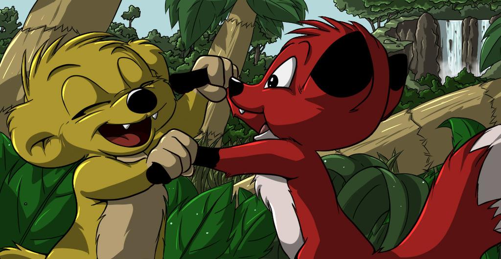Hugo and Rita (Jungledyret Hugo)