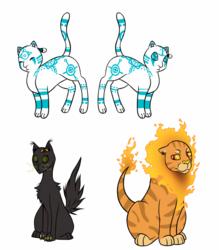 Warriors Designs-Jayfeather, Hollyleaf, Lionblaze
