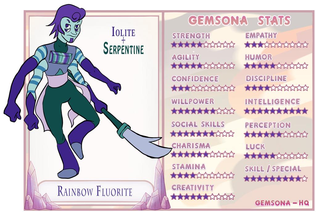 Gemsona: Fusion: Rainbow Fluorite