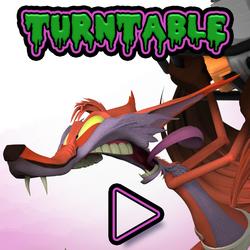Psycho Fox: Keyshot turntable test 1