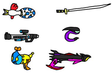 Shadow The Hedgehog Special Weapons