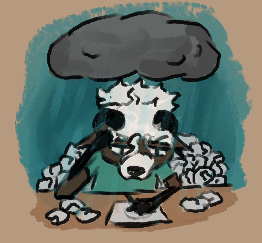 Most recent image: Frustrated