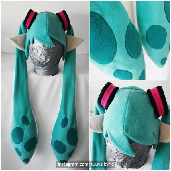 Hatsune Miku Splatoon Cosplay Hat! ♥
