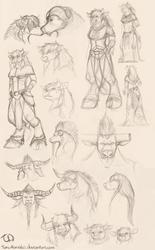Tauren sketches