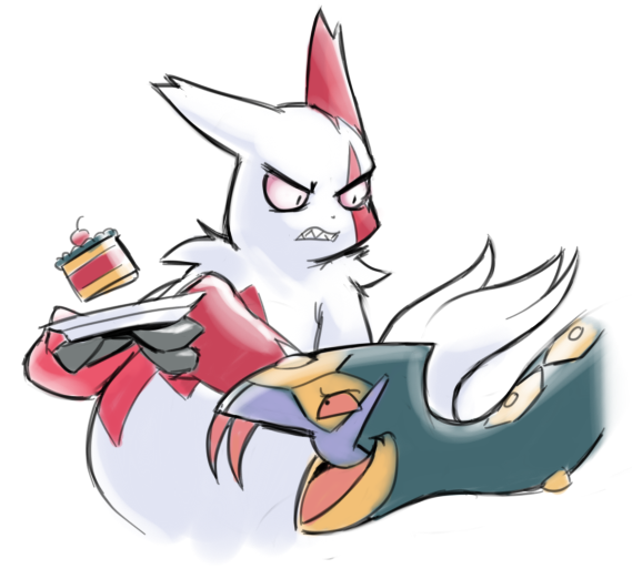 Seviper and Zangoose