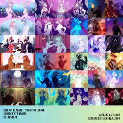 Silhouette Icons Mar-Apr 2019