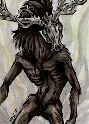 ACEO - King of the Forest