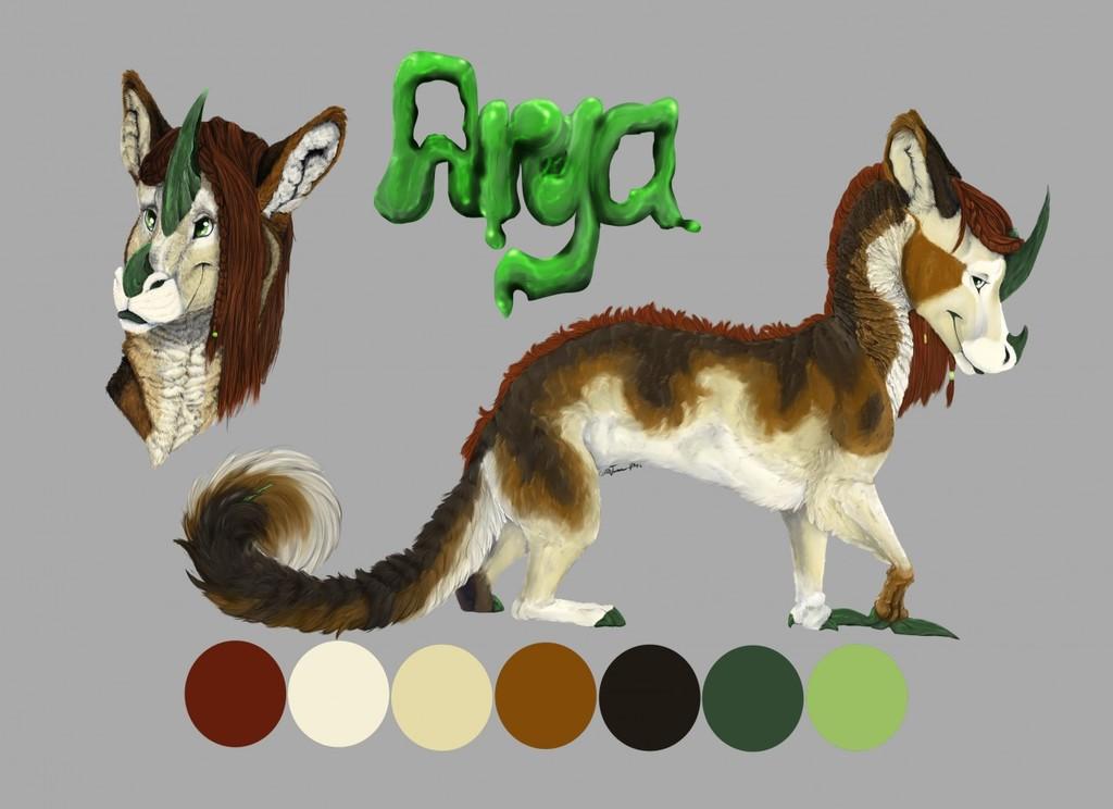 Arya Reference Sheet 2016