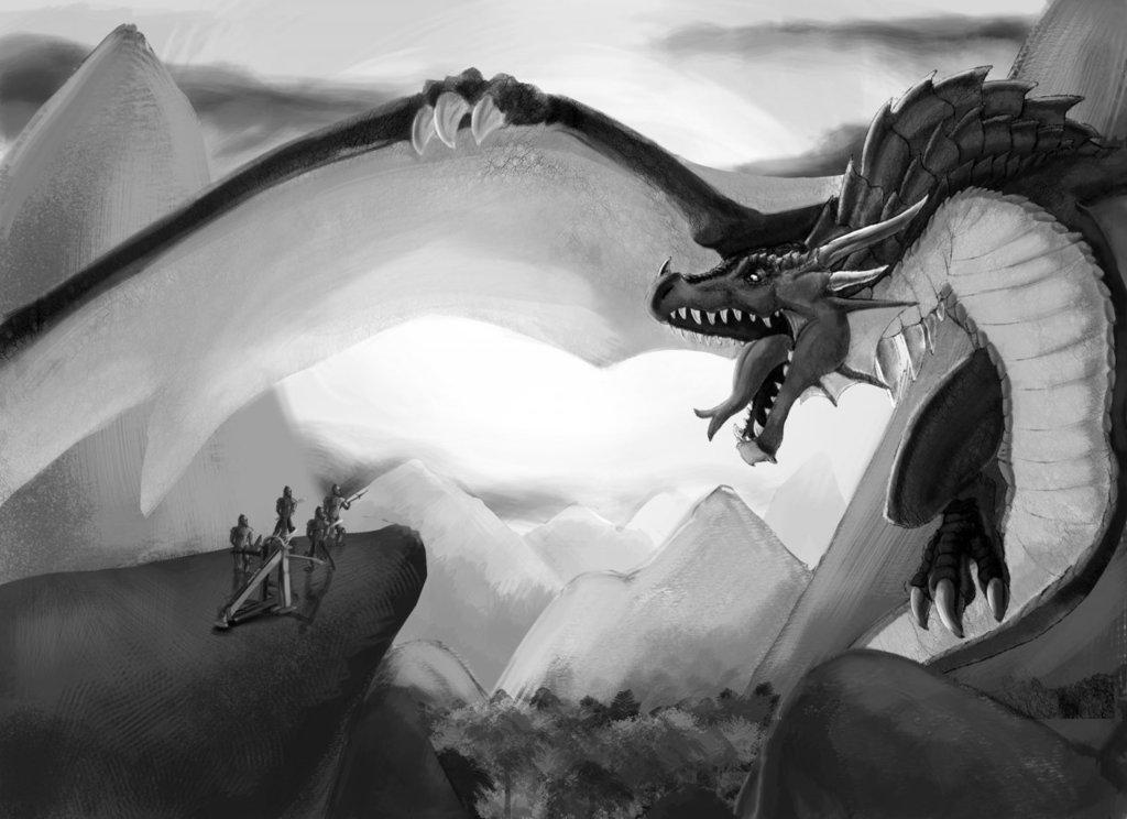 Most Cliche Dragon EVER