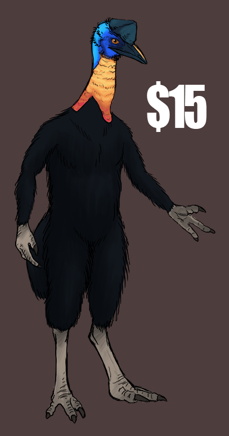 Northern Cassowary - $15