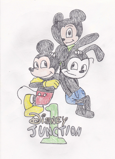 Disney Junction volume 1 cover