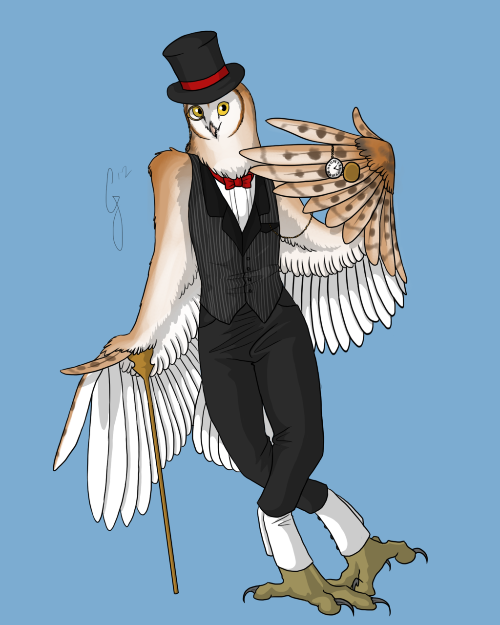 Commission - Fancy as Shit