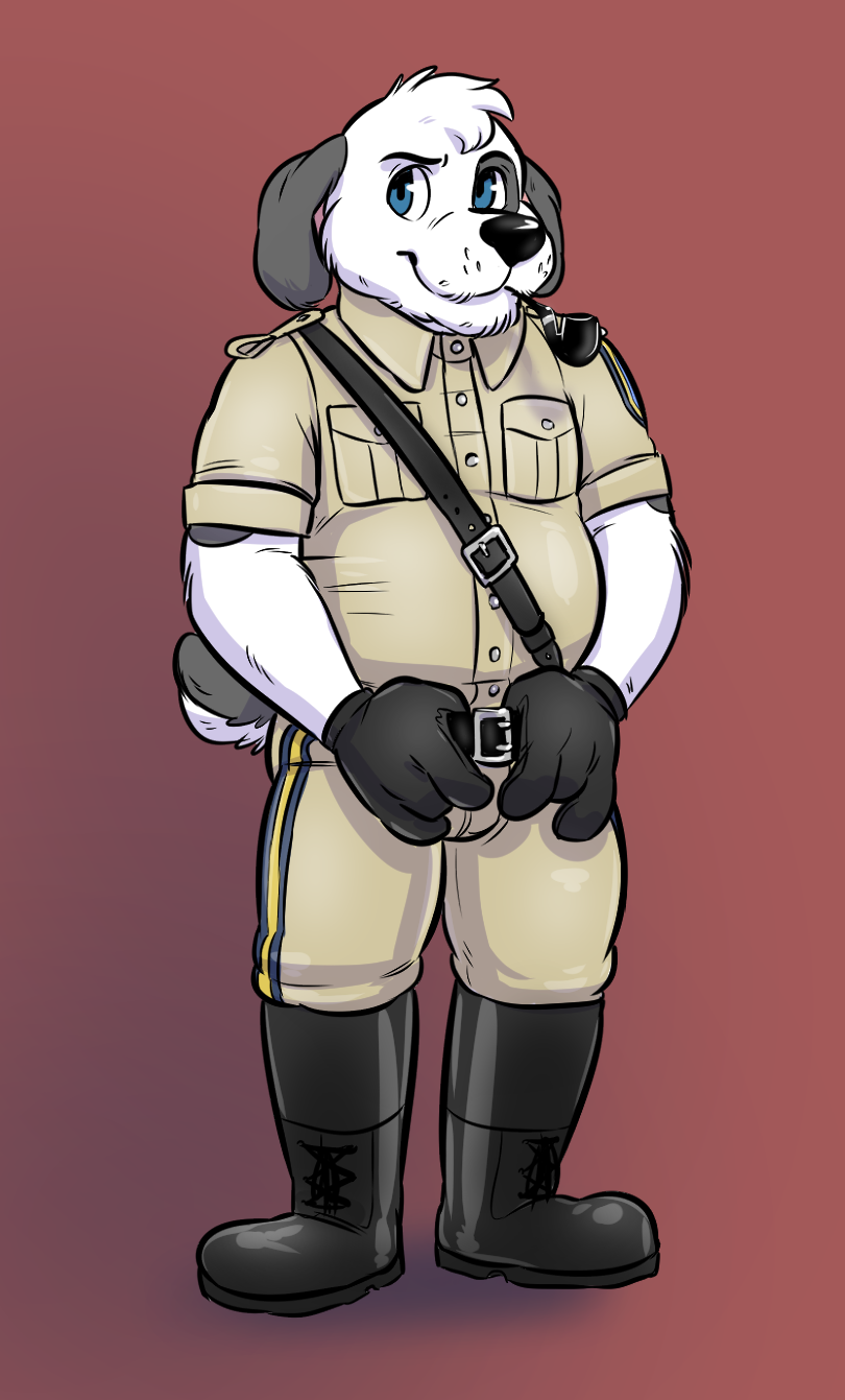 Leather Uniform Barnaby by Cubi
