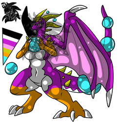 Female Bubble Dragoness +Design 4 Sale+