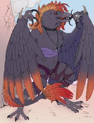 [Commission]-Demonic Wereraven Quinn