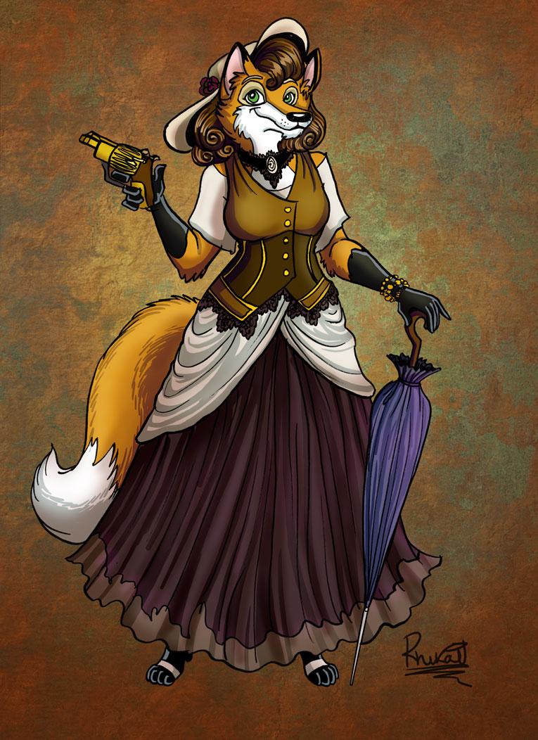 Most recent image: Steampunk vixen