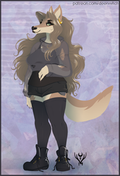 [Fashion Pinup] Thaminga Werewolf