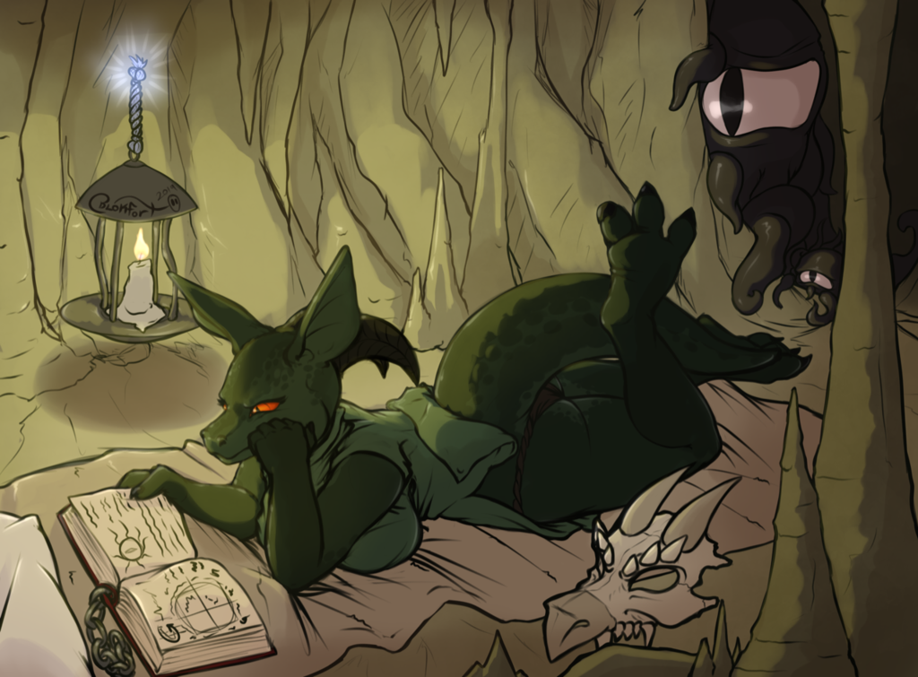 Citra Reading in the Dark