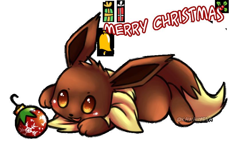 Christmas Eevee.Eevee Christmas Weasyl