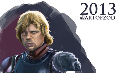 Warm up Sketch of Tyrion Lannister part 3 final