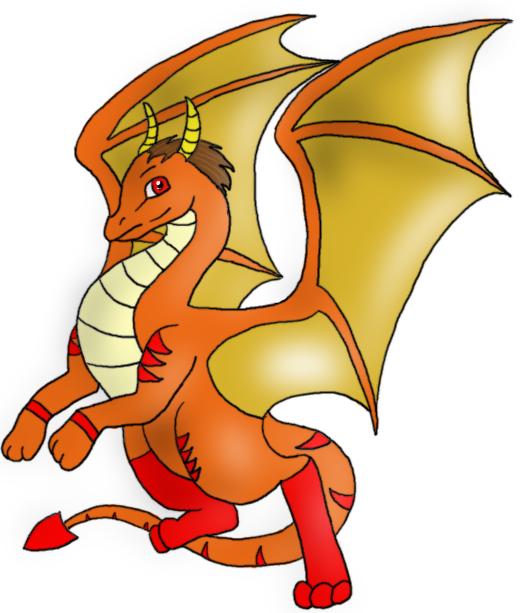 I drew a dragon once