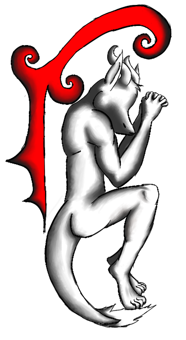Dragon, Red and Black (poem below)