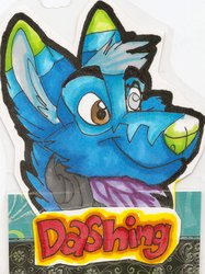 Dashing Badge by Syber