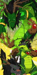 The Plant Dragon Monster