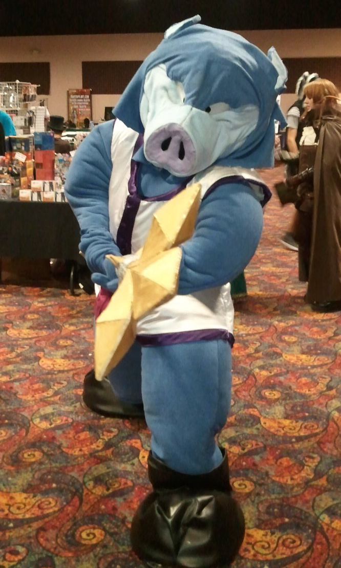 Most recent image: Cosplay: Orc King Lv. 30, Dragon Quest series