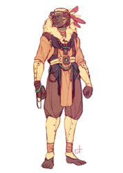 Zuntai warrior