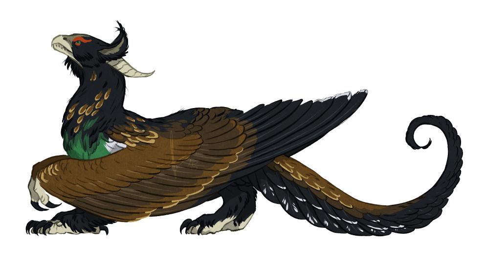 wood grouse dragon
