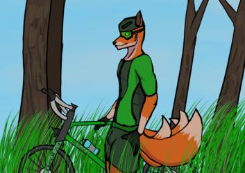Fox Cyclist