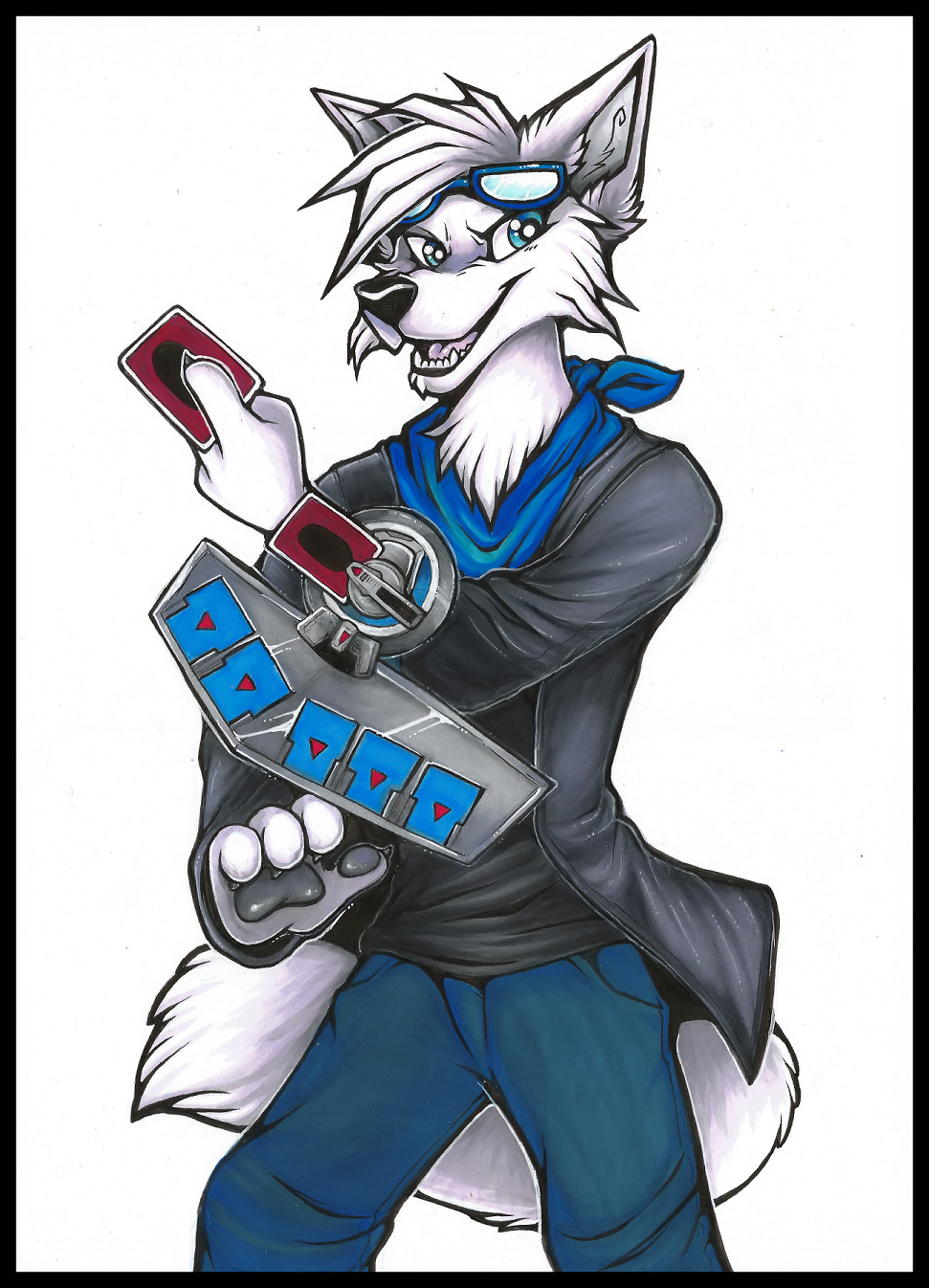 """Aura - """"Heart of the Cards"""" (Commission)"""
