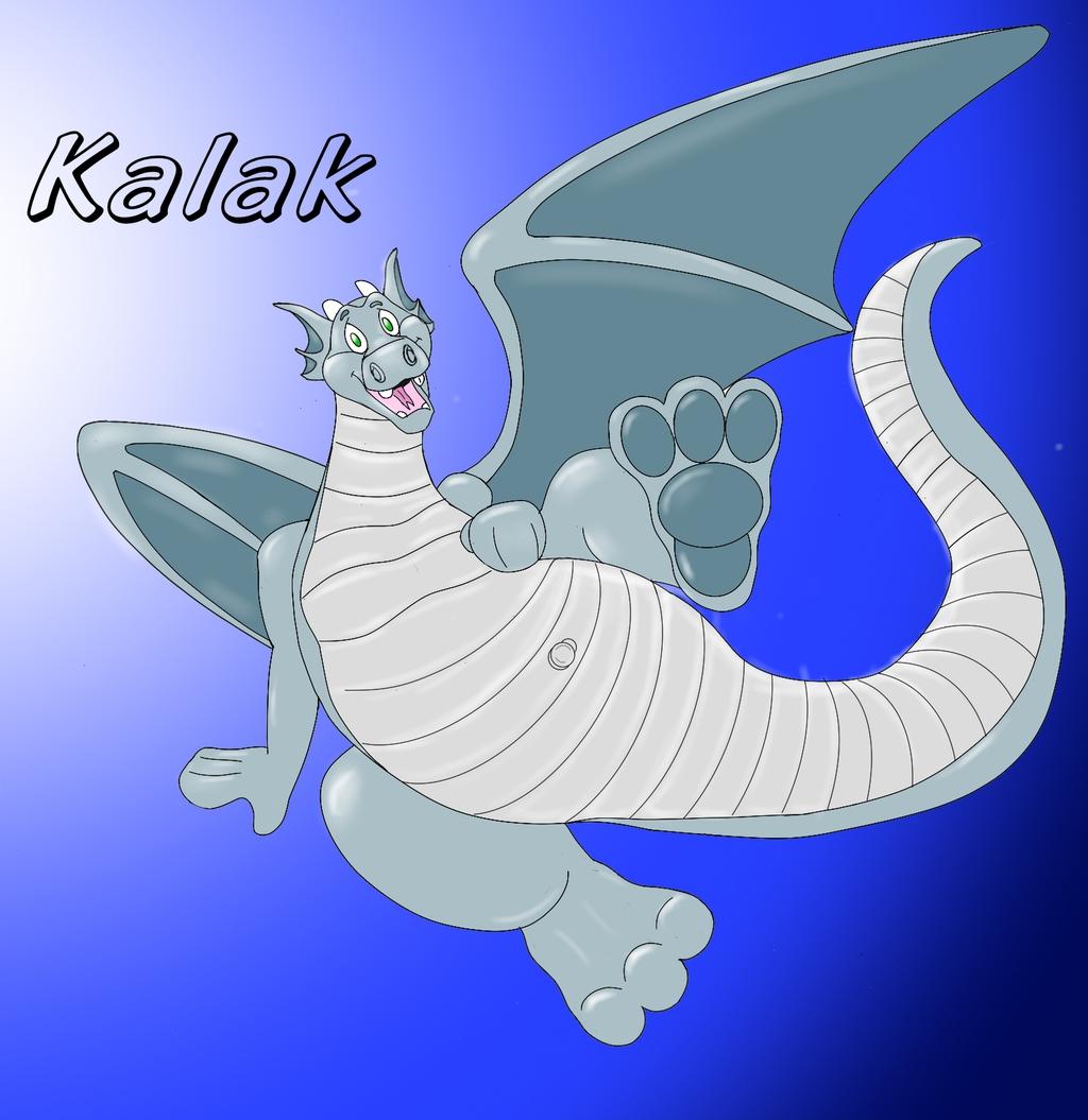 Kalak the rubber dragon!