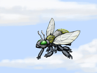 Speed Drawing--Mason Bee Friend