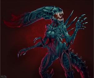 Alien Queen Shemeska
