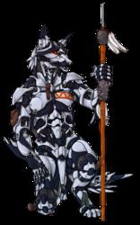 Robot Smokepaw - White (Winter Version)